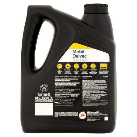 Mobil delvac 15w 40 heavy duty diesel oil 1 gal best for Best diesel motor oil brand
