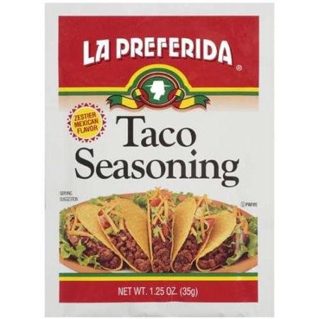 (5 Pack) La Preferida Taco Seasoning, 1.25 Oz