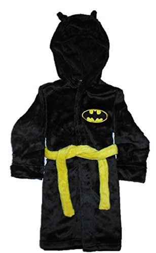 Batman Boys' Hooded Robe with Mask by