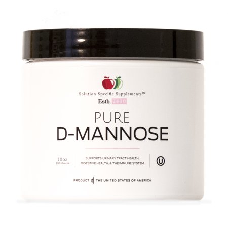 Pure D-Mannose Powder Supplement - Bulk D-Mannose 10oz ( 283 g ) 120 Servings for UTI, Bladder, & Urinary Tract