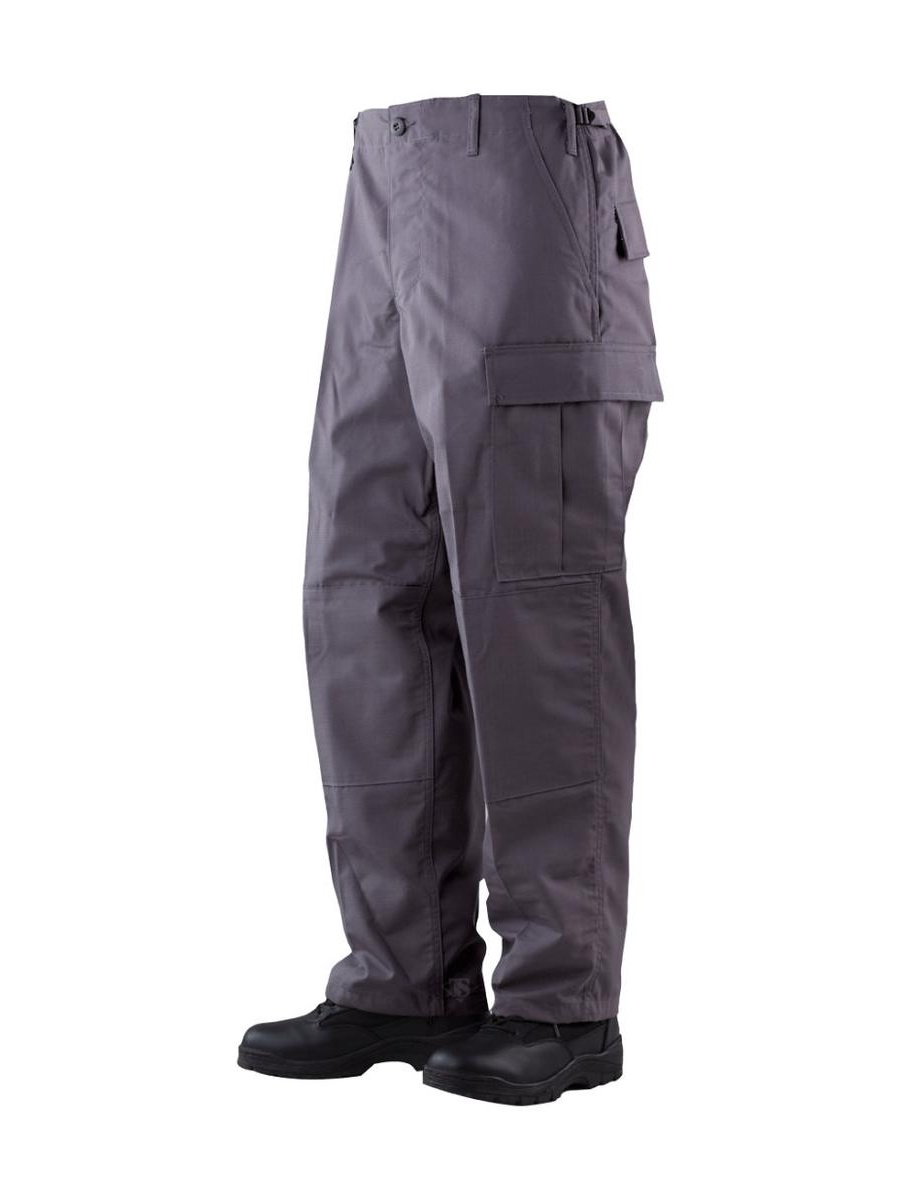 1308 Mens BDU Pants, Rip-Stop, Charcoal Grey