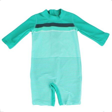 45552ba866 Carter's - Carter's One Piece Sun Suit Boys Rashguard Outfit Green 6-9M -  Walmart.com