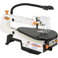 Shop Fox W1713 1/8 HP 16 Inch Variable Speed Adjustable Scroll Saw w/ Work Light
