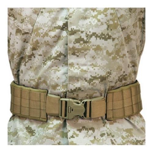 "Image of Blackhawk 41PBT0DE Coyote Tan Padded Patrol Belt w/IVS - Size XSmall 32.5""-42"""