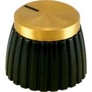 Marshall P-K401 Knob - Marshall, Brown, Gold Cap, Push-On, Single