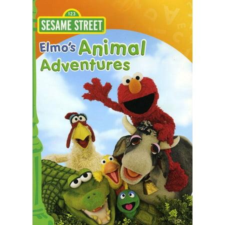 Elmo's Animal Adventure (DVD) - The Office Halloween Jim And Pam