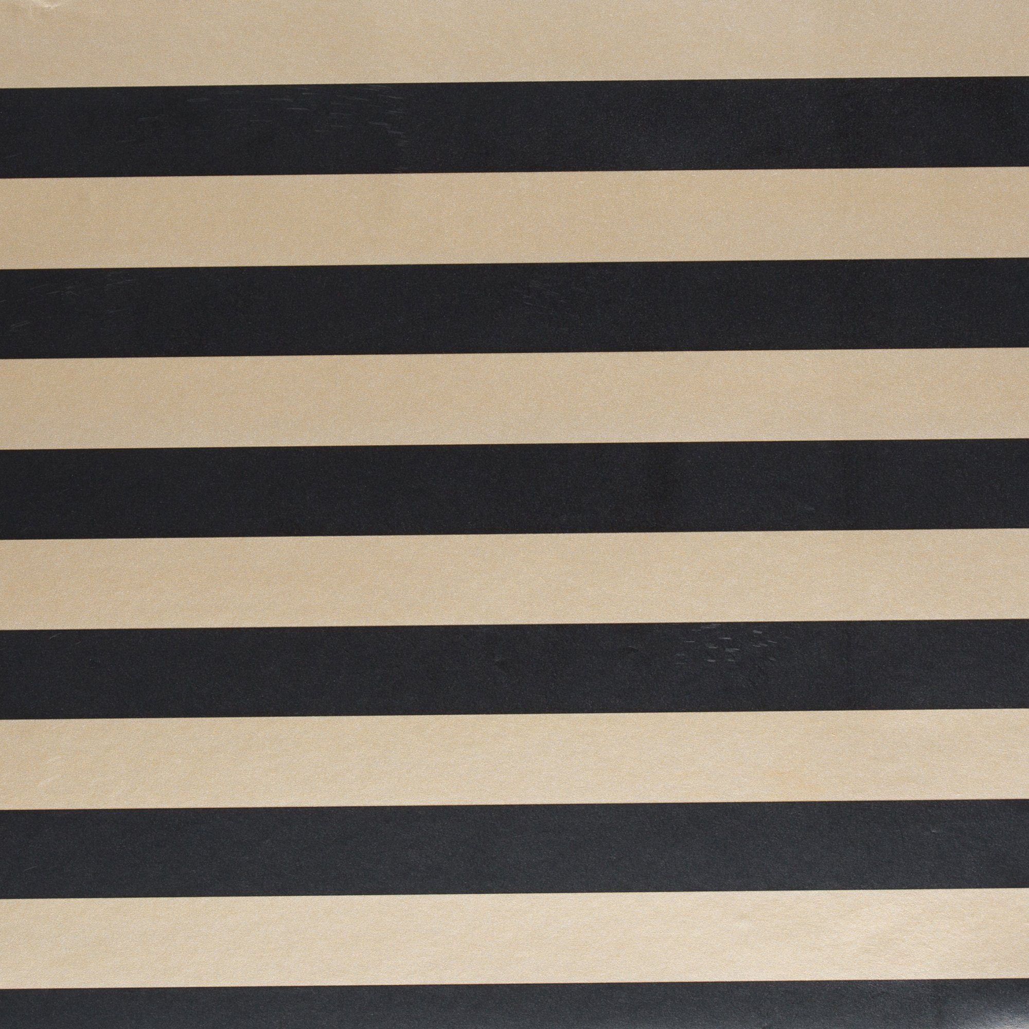 Jillson & Roberts Gift Wrap, Black Gold Stripe (8 Rolls 5ft x 30in)