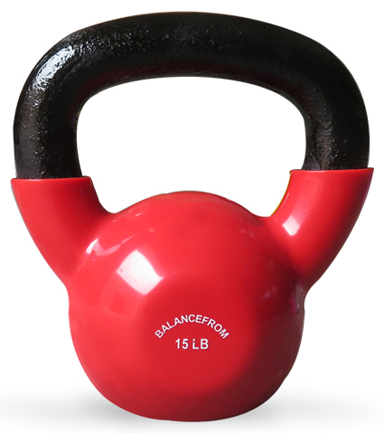 BalanceFrom GoFit All-Purpose Color Vinyl Coated ...