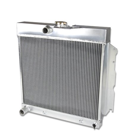For 1963 to 1969 Dodge Charger / Coronet / Plymouth Belvedere Full Aluminum 2 -Row Racing Radiator 64 65 66 67