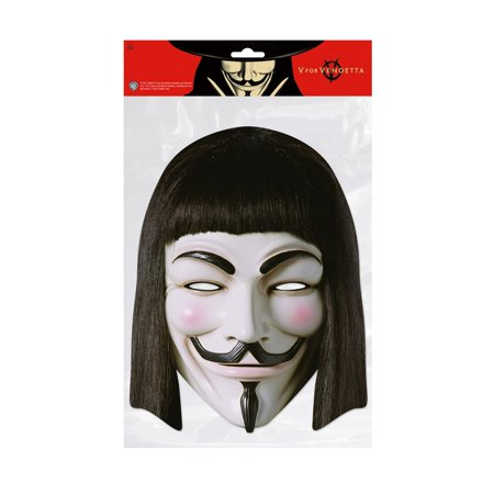 V for Vendetta Facemask – Costume Accessory