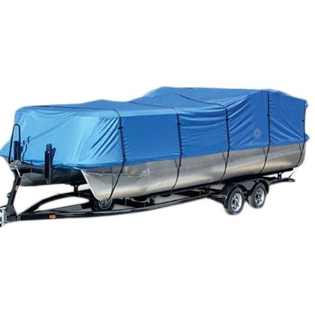 Wake Monsoon Series Pontoon Boat Cover 600D Marine Grade Durapel Polyester (Best Wake Boat For The Money)
