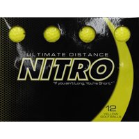 Deals on 12-Pack Nitro Golf Ultimate Distance Golf Balls