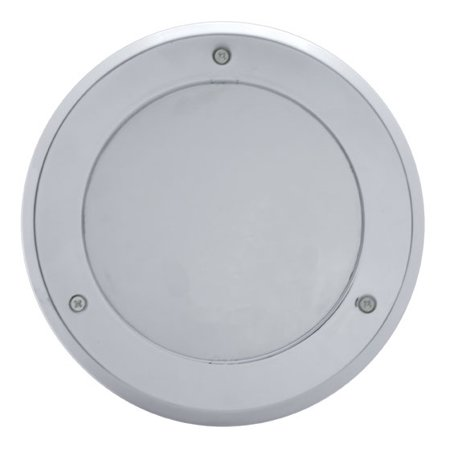 (2) Round Chrome Bezels / Covers 4