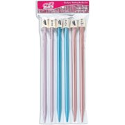 Silvalume 11193 Knitting Needles, Straight, 10-Inch