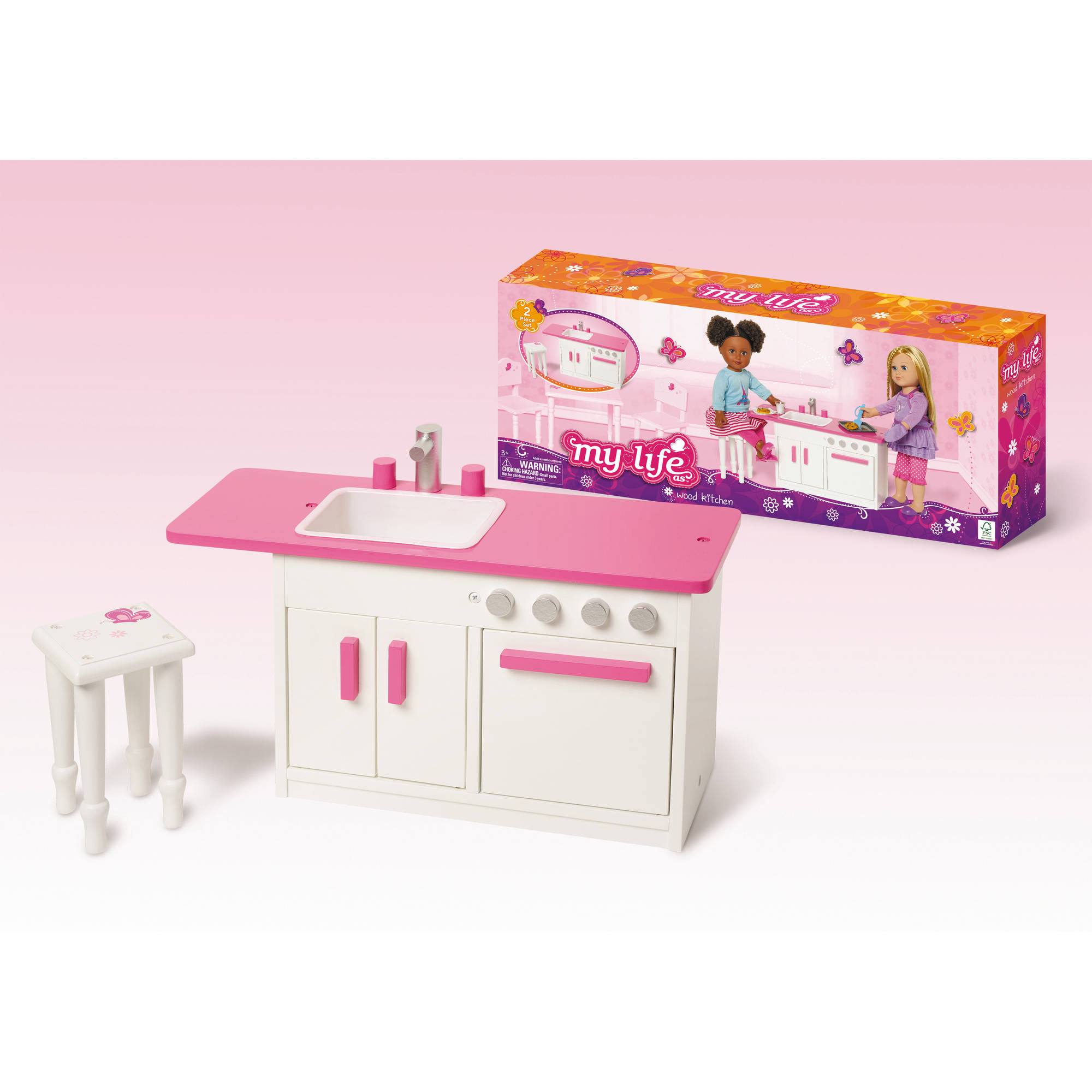 "My Life As 18"" Dollhouse Furniture, Kitchen"