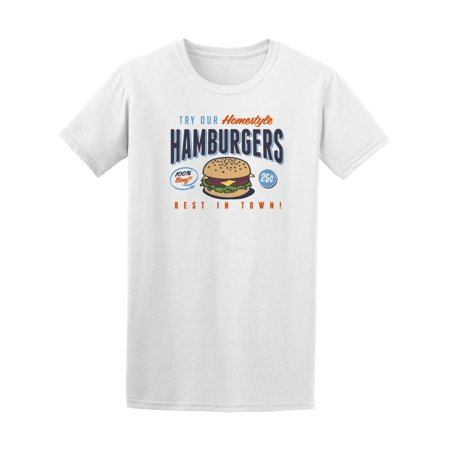Homestyle Best Town Hamburgers Tee Men's -Image by