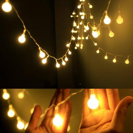40 led outdoor globe string lights ball christmas fairy light usb 40 led outdoor globe string lights ball christmas fairy light usb powered 16ft workwithnaturefo