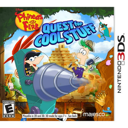 Majesco Phineas and Ferb Quest for Cool Stuff (Nintendo