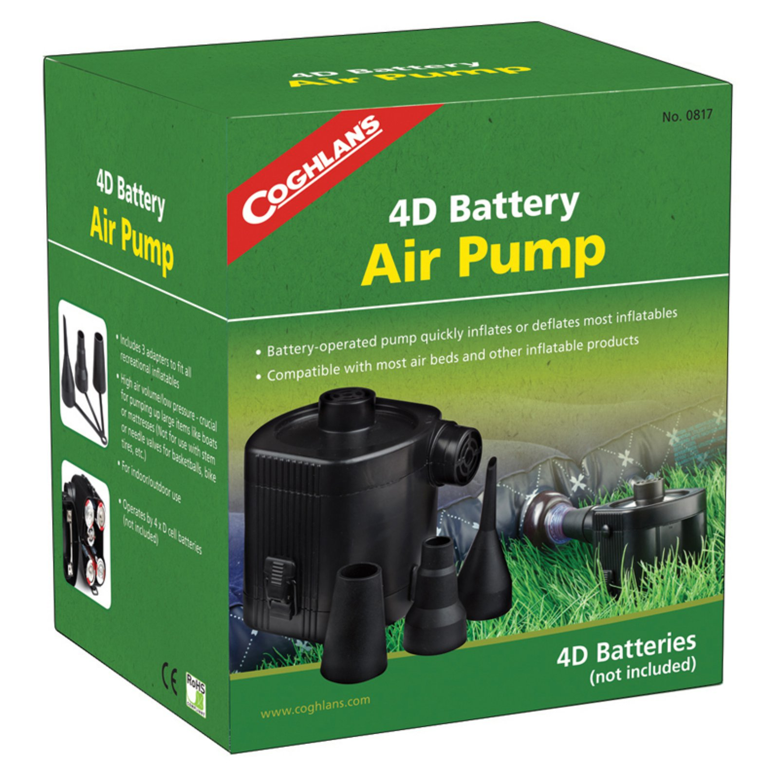 Coghlan's 817 Battery Powered Air Pump by Coghlan's