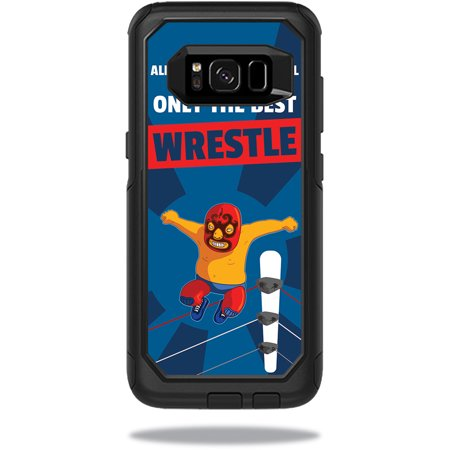 Skin For OtterBox Commuter Samsung Galaxy S8 Case – Best Wrestle | MightySkins Protective, Durable, and Unique Vinyl Decal wrap cover | Easy To Apply, Remove, and Change Styles | Made in the