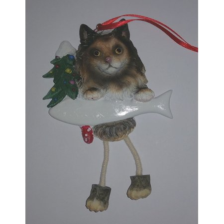 MAINE COON CAT Dangling Legs Christmas Ornament by E&S Pets, Maine Coon Cat By ES (Maine Coon Cats For Sale In Maine)