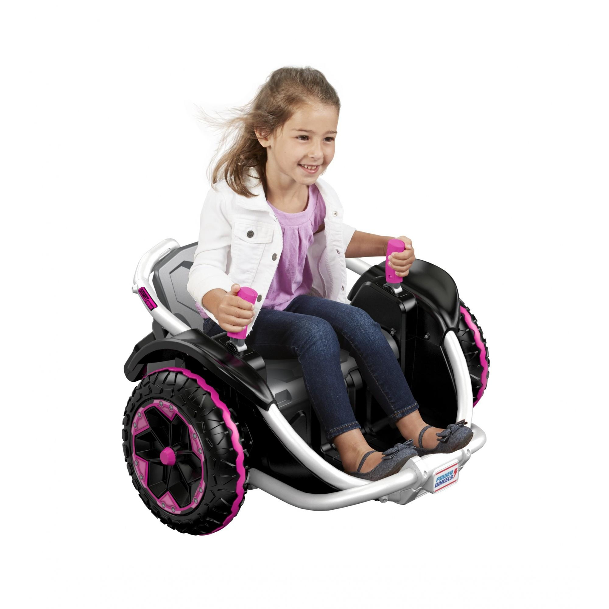 Power Wheels Wild Thing 360-Degree Spinning Vehicle, Purple