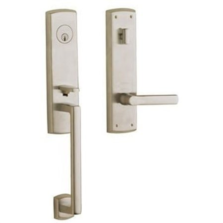 Baldwin Hardware Soho Single - Baldwin  85387.RENT  Keyed Entry  Soho  Handleset  Single Cylinder  ;Satin Nickel