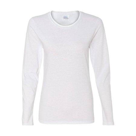 Gildan T-Shirts - Long Sleeve Heavy Cotton Women's Long Sleeve T-Shirt