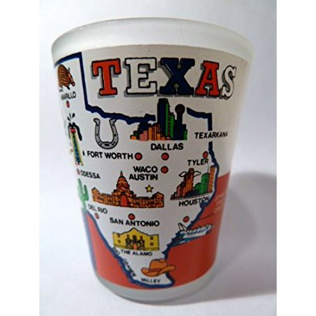 Texas Lone Star State New Collection Shot Glass ctm