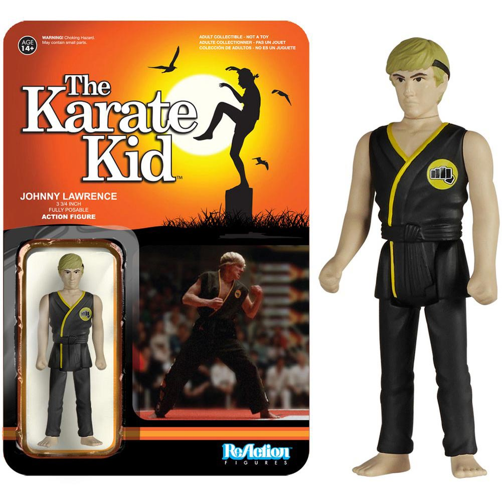 Karate Kid Johnny Lawrence Action Figure,  Classic Movies by Funko