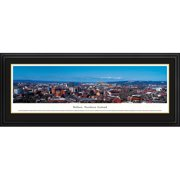 Blakeway Worldwide Panoramas, Inc World Skyline Belfast, Northern Ireland by James Blakeway Framed Photographic Print