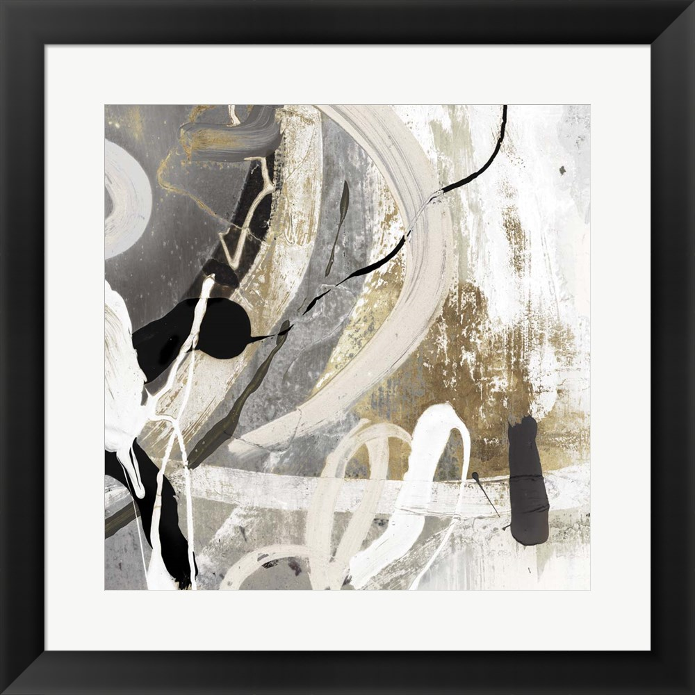 Tangled III by Posters International Studio, Framed Wall Art, 19.5W x 19.5H