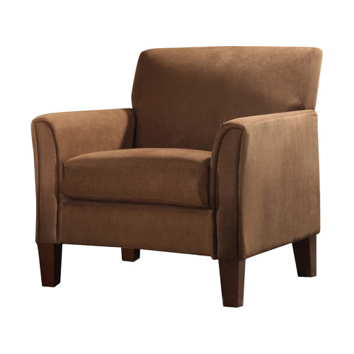 Kingstown Home Warner Microfiber Arm Chair Walmart Com