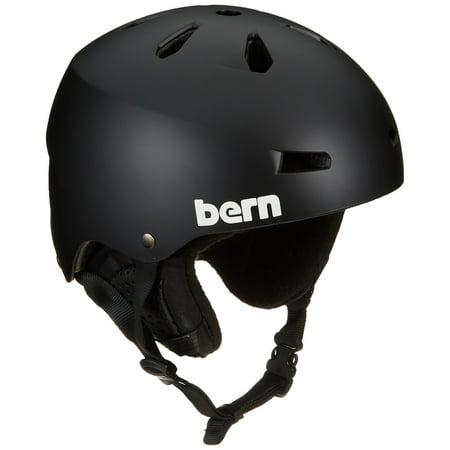 Bern Black Summer Helmet - Bern - Summer Team Macon EPS Helmet Matte Black/Black Liner Large