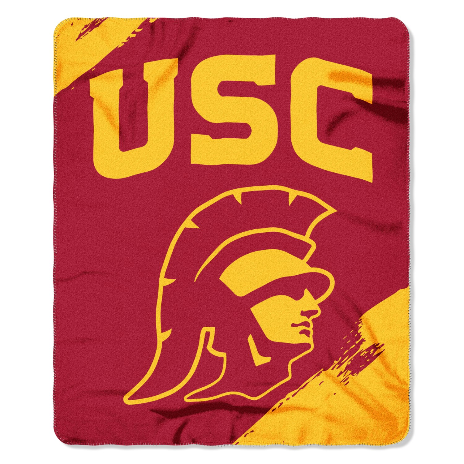 USC Trojans Painted Fleece Throw