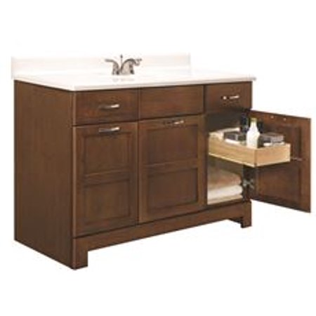 Rsi Home Products Chandler Bathroom Vanity Cabinet Fully Embled Cognac 48x21x33 1