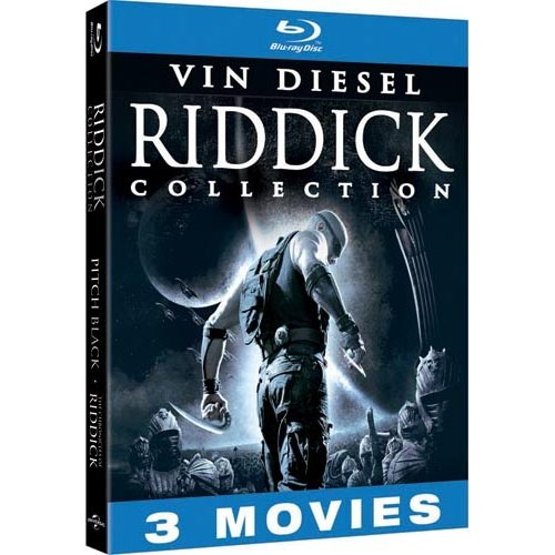 Riddick Collection (Unrated): Pitch Black / The Chronicles Of Riddick: Dark Fury (Animated) / The Chronicles Of Riddick (Blu-ray   DVD)