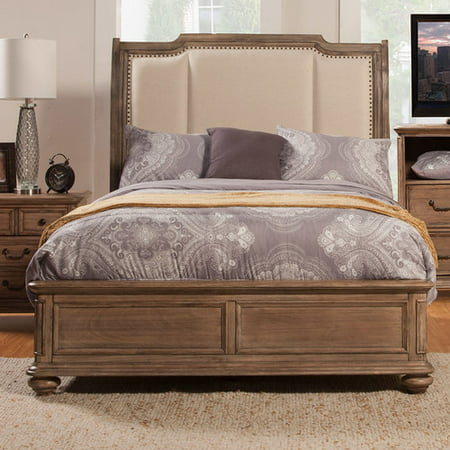 Alpine Furniture Melbourne Platform Bed, Multiple Sizes ()