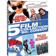 5 Film Collection: '80s Comedy Ferris Bueller's Day Off   Planes, Trains And Automobiles   Airplane!   The Naked Gun  ... by