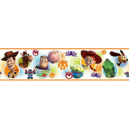 Wallhogs Disney Toy Story 3 Room Border Wall Mural