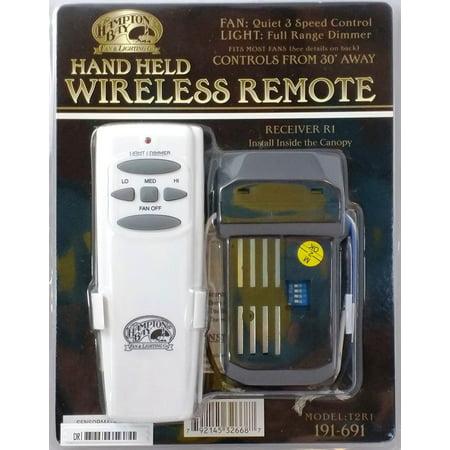 Hampton Bay Portable Ceiling Fan Remote Control ()