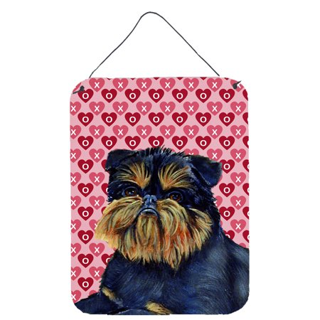 Brussels Griffon Hearts Love and Valentine