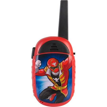 Sakar Power Rangers Face Plate Walkie-Talkie