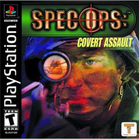 Spec Ops Covert Assault - Playstation PS1