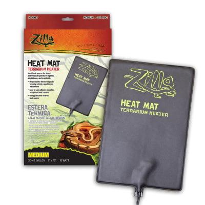 Zilla 09938 30 to 40 gal Terrarium Heater Medium Heat Mat, 16 watt
