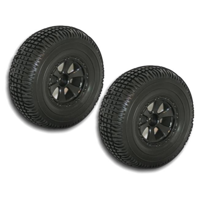 Redcat Racing BS804-001 2 Pieces Black Short Course Wheels and Tires