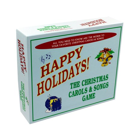 Christmas Carols & Songs Game - Includes the best and and most popular Christmas carols and songs in one great board game. Add it to your collection of Christmas party games! - Games For Christmas Party