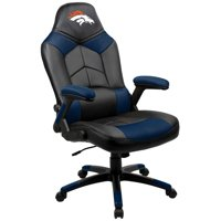 Denver Broncos Oversized Gaming Chair - Black - No Size