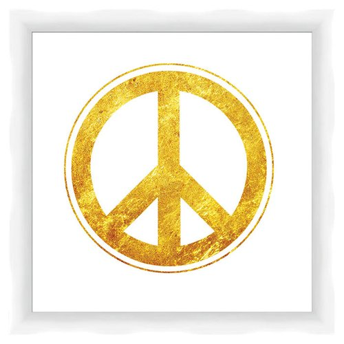 PTM Peace Framed Graphic Art