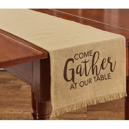 Come Gather At Our Table Table Runner Kitchen or Dining Room 54 Inches